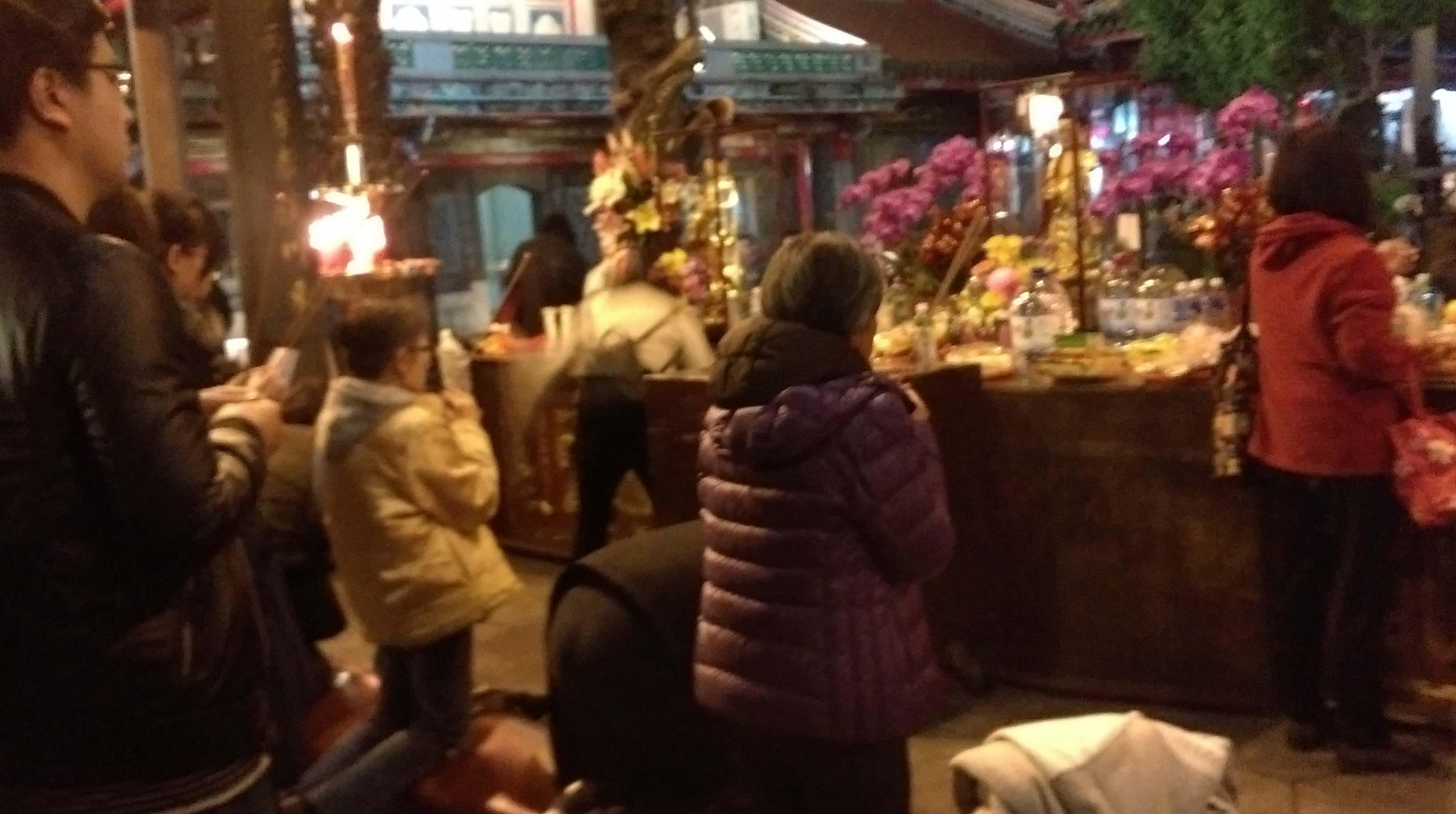 160116-龍山寺-求神