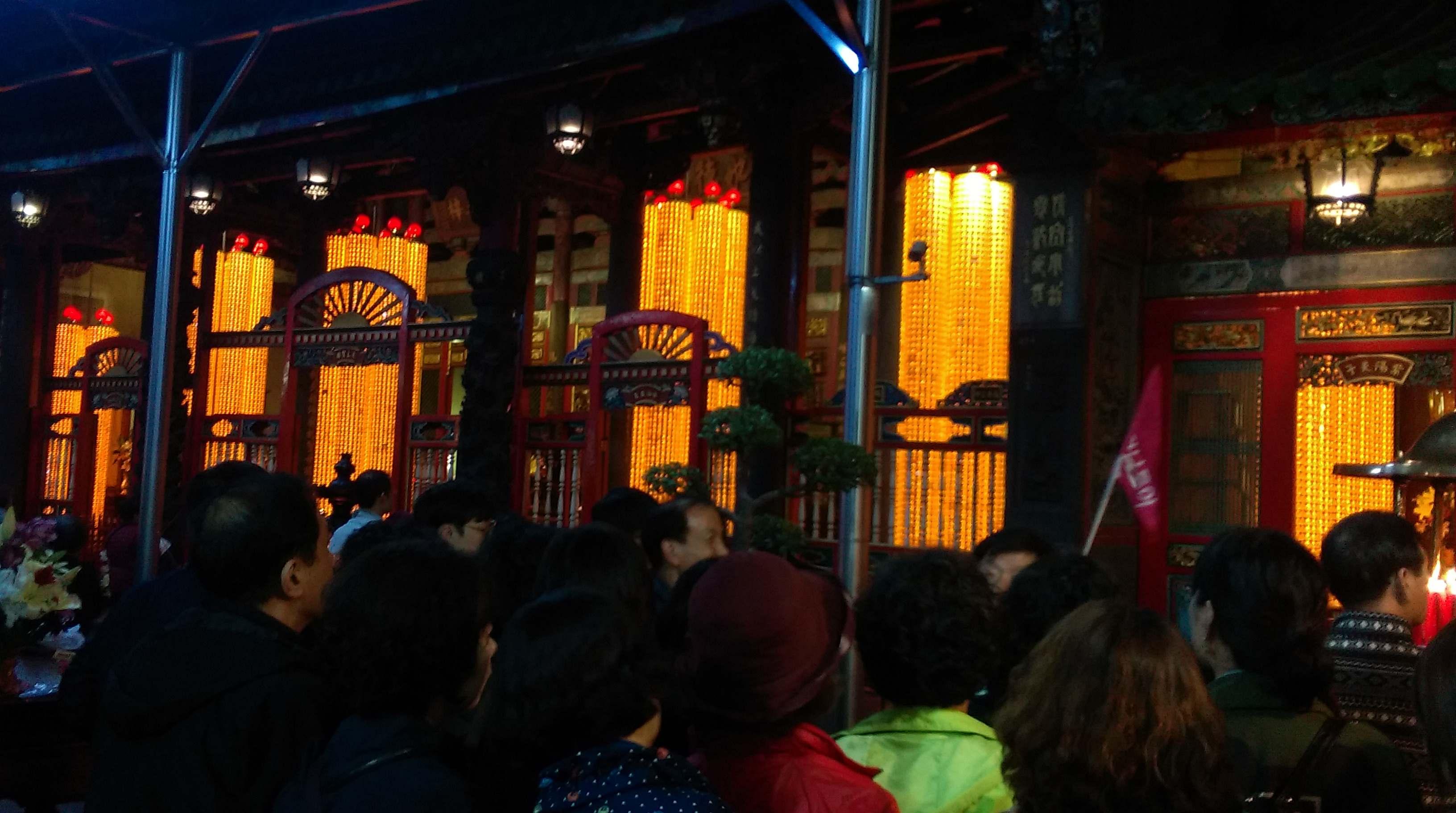 160116-龍山寺-求神2