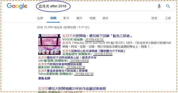 【搜尋指令】Google新出的搜尋指令 – 「before:」與「after:」讓你的搜尋更便利精準