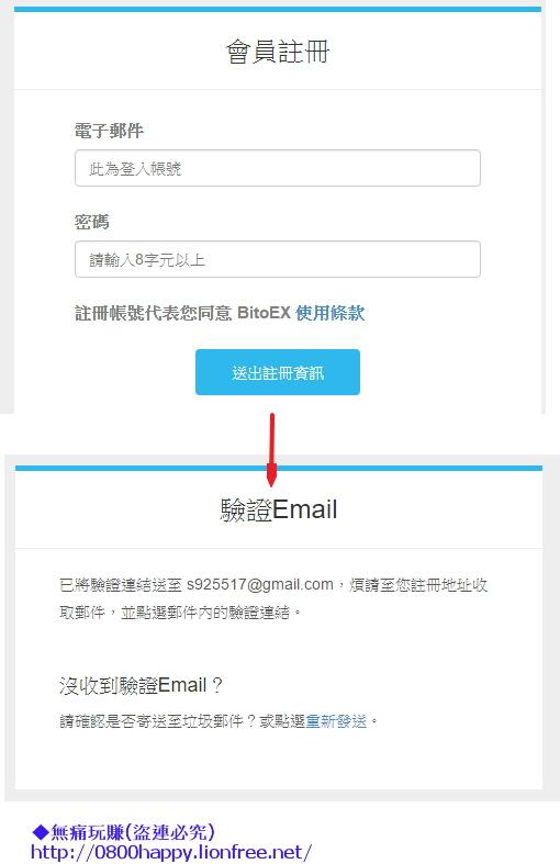 2註冊信箱