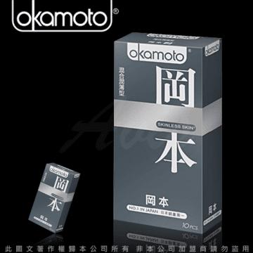 kamoto岡本OK Skinless Skin 混合潤薄型保險套